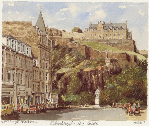 Edinburgh Castle by Philip Martin