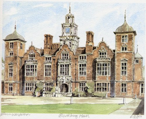 Blickling Hall by Philip Martin