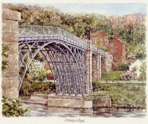 Iron Bridge by Glyn Martin