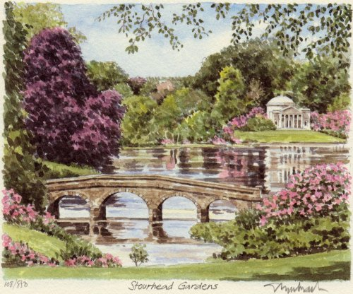 Stourhead Gardens by Philip Martin