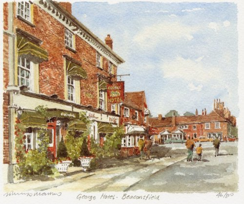 Beaconsfield- The George by Philip Martin