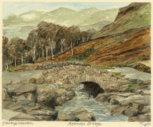 Ashness Bridge by Philip Martin