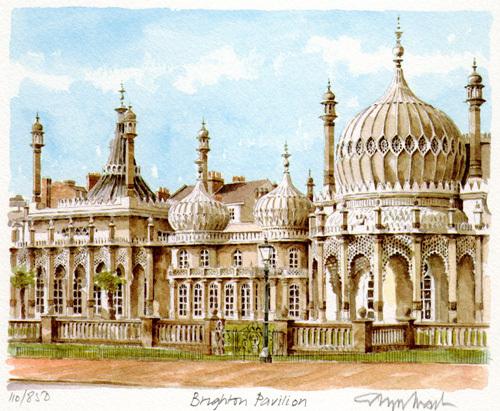 Brighton - Pavilion by Glyn Martin
