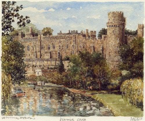 Warwick Castle by Philip Martin