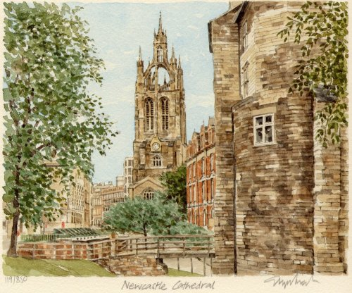 Newcastle - Cathedral by Glyn Martin