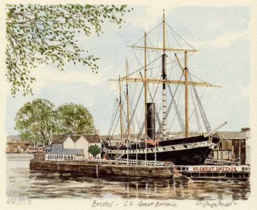 Bristol - SS Great Britain by Glyn Martin