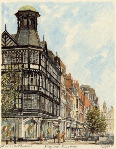 Manchester - King Street by Philip Martin