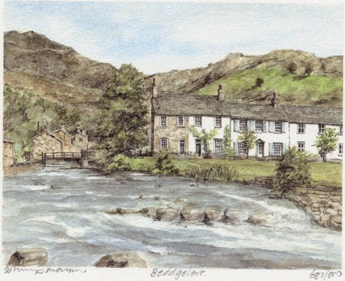 Beddgelert by Philip Martin
