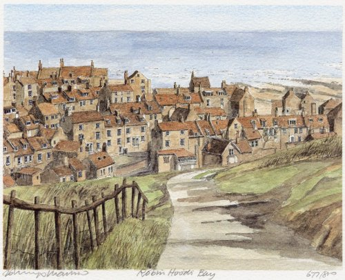 Robin Hood's Bay by Philip Martin