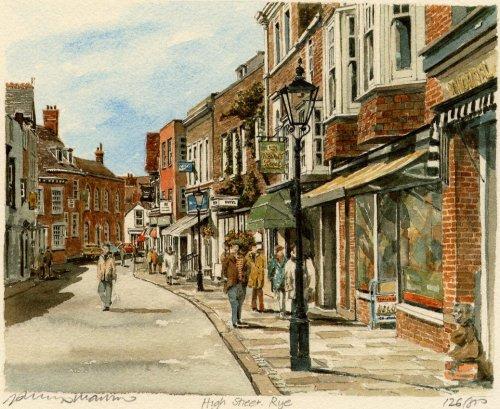 Rye - High Street by Philip Martin