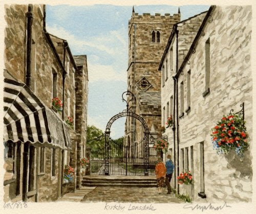 kirkby lonsdale art print by glyn martin king amp mcgaw