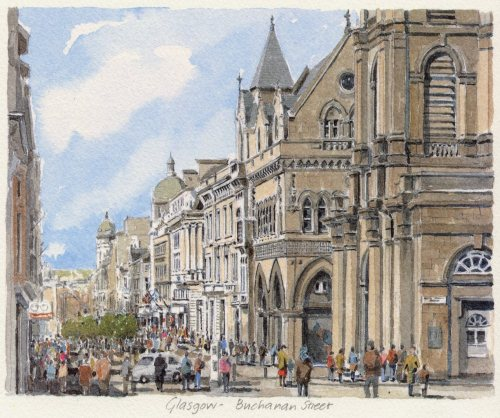 Glasgow - Buchanan Street by Philip Martin