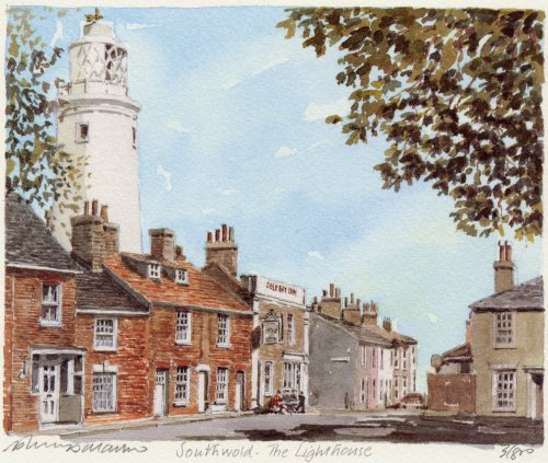 Southwold - Lighthouse by Philip Martin