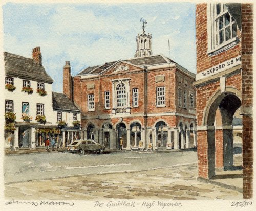 High Wycombe - Guildhall by Philip Martin