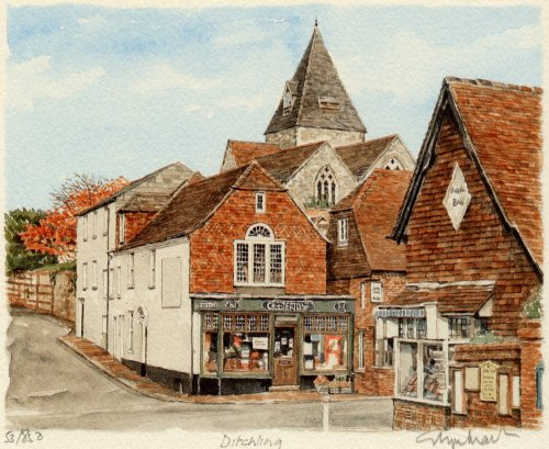 Ditchling by Glyn Martin