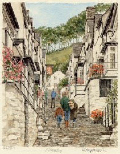 Clovelly by Glyn Martin