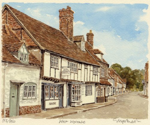 West Wycombe by Glyn Martin