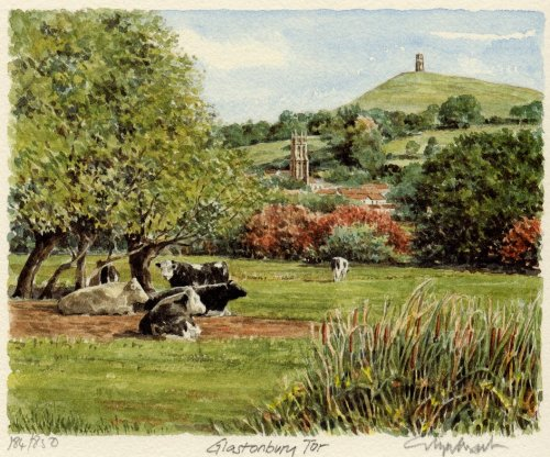 Glastonbury Tor by Glyn Martin