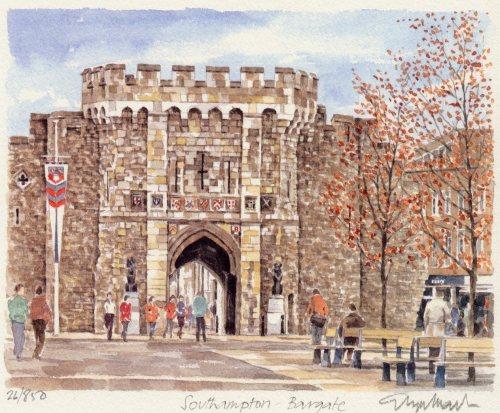 Southampton - Bargate by Glyn Martin
