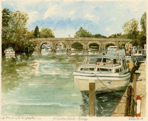 Maidenhead - Bridge by Philip Martin