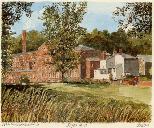 Quarry Bank Mill by Philip Martin
