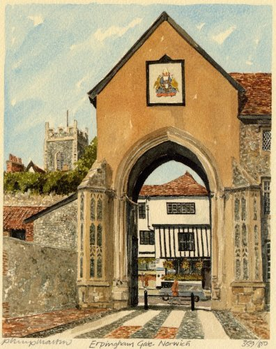 Norwich - Erpingham Gate by Philip Martin