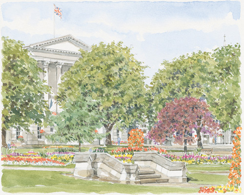 Cheltenham - Imperial Gardens by Glyn Martin