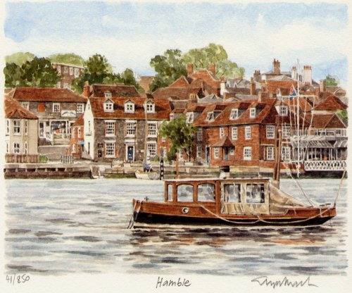 Hamble by Glyn Martin