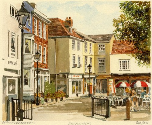 Abingdon - Square by Philip Martin