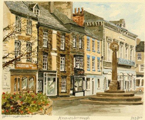 Knaresborough - Square by Philip Martin