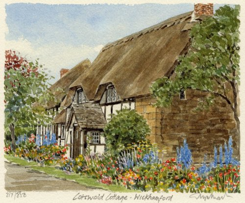 Cotswold Cottage,Wickhamford by Glyn Martin