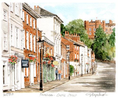 Farnham - Castle Street by Glyn Martin