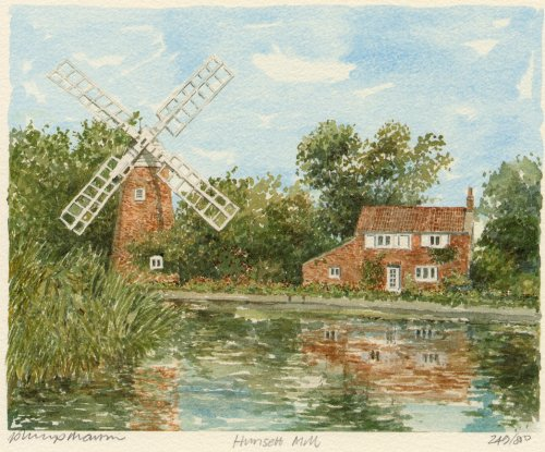 Hunsett Mill by Philip Martin