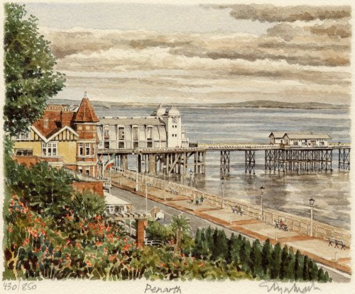 Penarth - Pier by Glyn Martin