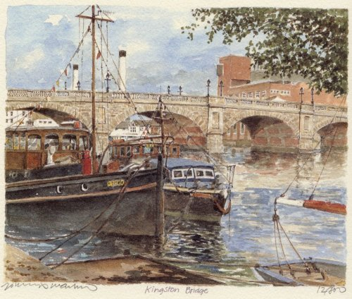 Kingston Bridge by Philip Martin