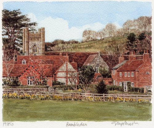 Hambleden Village by Glyn Martin