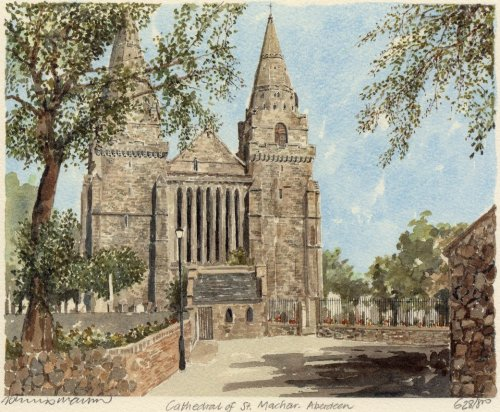 Aberdeen - St. Machar's Cath. by Philip Martin