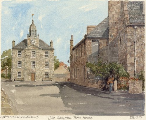 Old Aberdeen Town House by Philip Martin