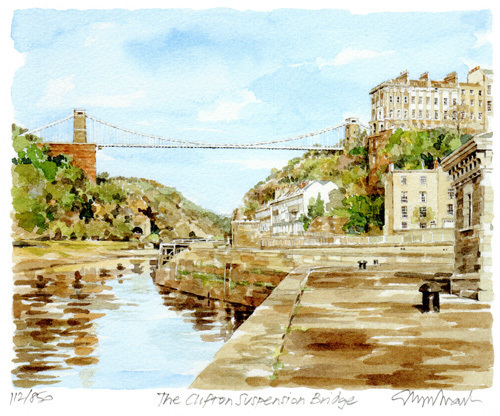 Bristol - Clifton Suspension Bridge by Glyn Martin