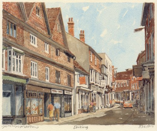 Dorking - West Street by Philip Martin