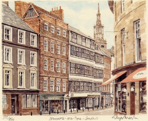 Newcastle - Sandhill by Glyn Martin