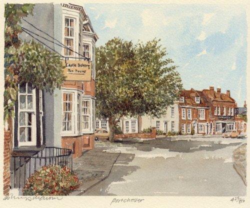 Portchester - village by Philip Martin