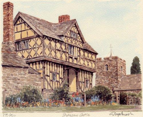 Stokesay Castle by Glyn Martin