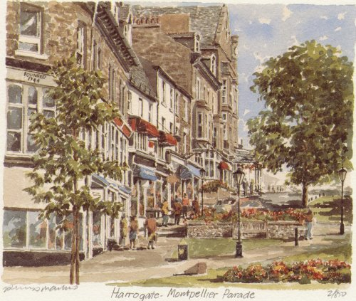Harrogate - Montpellier Parade by Philip Martin