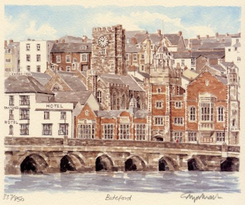 Bideford by Glyn Martin