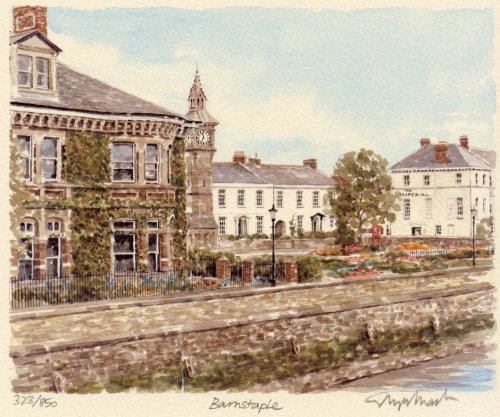 Barnstaple by Glyn Martin