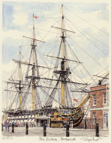 Portsmouth - The Victory by Glyn Martin
