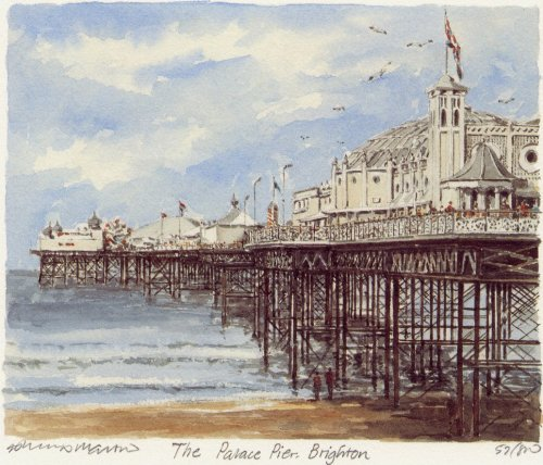 Brighton - Palace Pier by Philip Martin