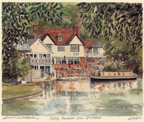 Guildford - 'Jolly Farmer Inn' by Philip Martin