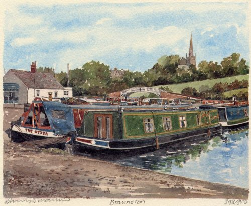 Braunston by Philip Martin